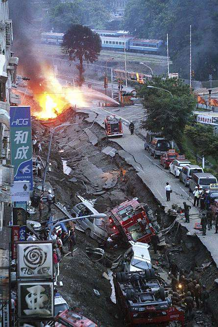 Powerful Taiwan Gas Explosions Kill 24, Injure 271