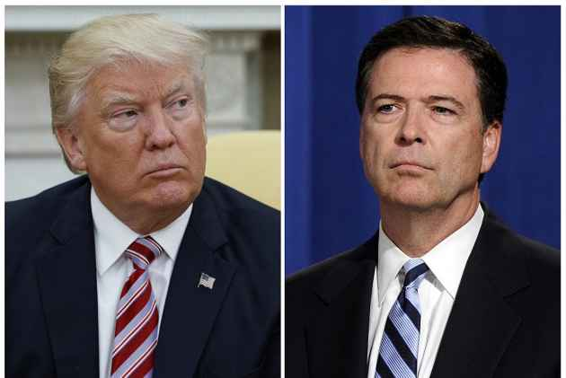 James Comey Democrats Start Impeachment Proceedings Against President Trump