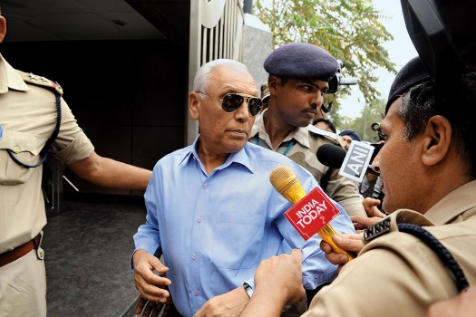 Former IAF chief SP Tyagi sent to police custody