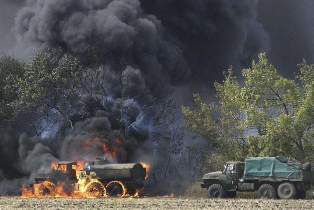 Explosions in Ukraine Hours Before Truce Talks Start