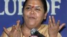 Uma Bharti Extends Support to BJP