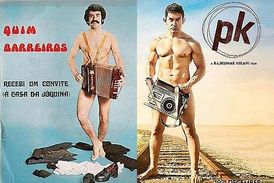 Aamir's 'PK' Bare-All Poster Turns out to Be a Copy