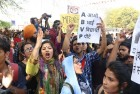 'It's About The Freedom To Coexist Yet Disagree':Hundreds Participate In DU Protest March Against ABVP