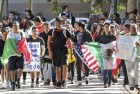 US College Students Protest Donald Trump's Deportation Plans