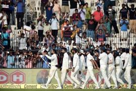 O'Keefe Takes Twelve As India Slumps To A 333-Run Loss