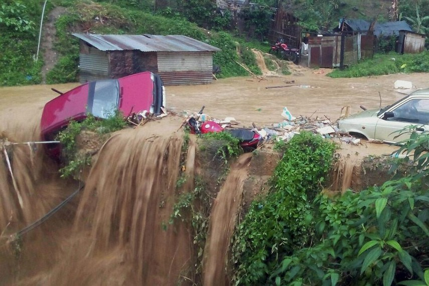 calamities caused due to heavy rain recently