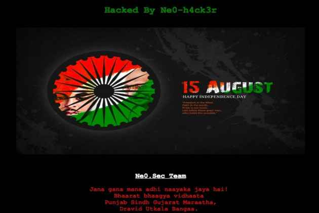 '15 August, Happy Independence Day': Pakistan Govt Website Hacked, Indian National Anthem Posted