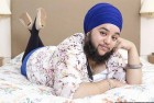 Bearded Sikh Woman Chosen for Portrait Exhibition