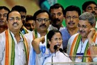 Mamata Banerjee Re-Elected TMC Chairperson, Calls Upon Regional Parties to Unite Against BJP