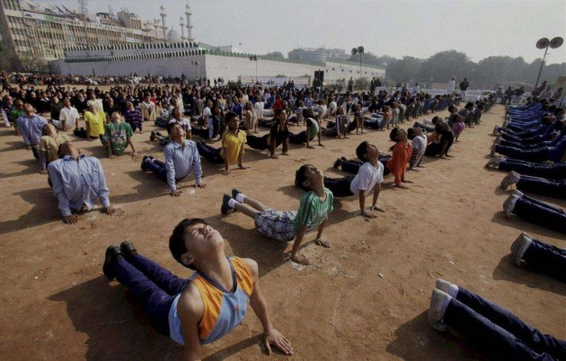 India to Hold Global Meet in China on UN's First Yoga Day