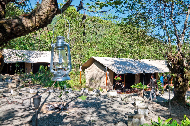 TUTC's Kohima Camp was a welcome refuge