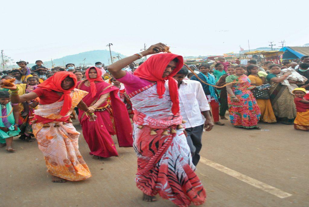 Various scenes from Sammakka Sarakka Jatara