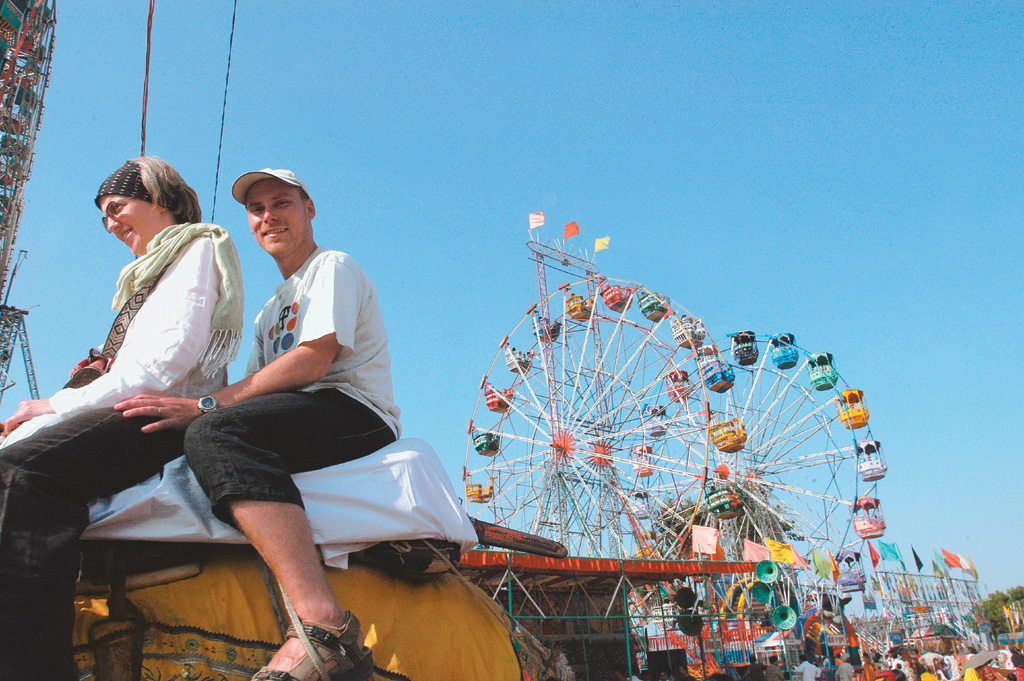 A conglomeration of attractions lures crowds to the mela every year