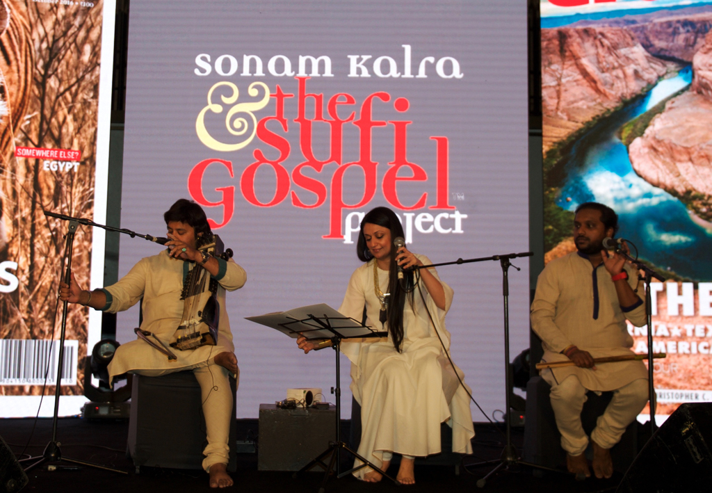 Sonam Kalra and the Sufi Gospel delivered some soulful numbers