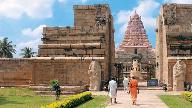 Entrance of Brihadeesvara Temple, Gangaikondacholapuram