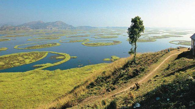 The serene waters of Loktak Lake