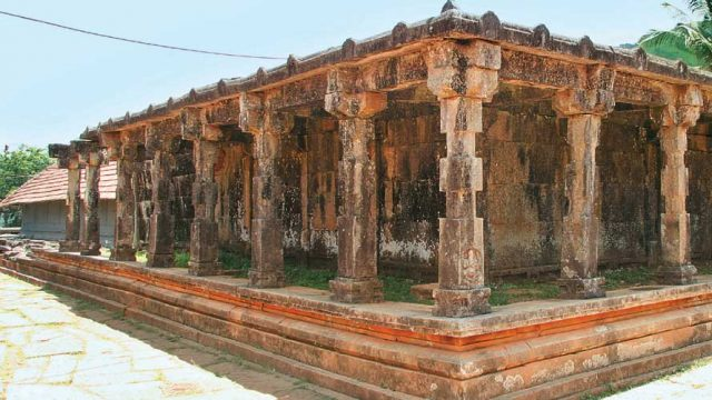 Thirunelly Temple, dating from the late 8th century CE