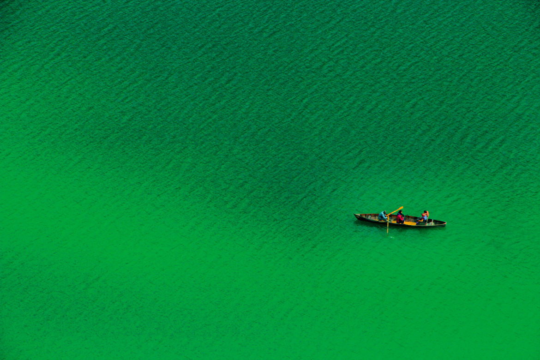 August 2017: Naini Lake in Nainital, Uttarakhand