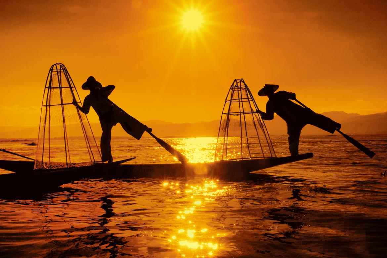 December 2017: Inle Lake in Myanmar