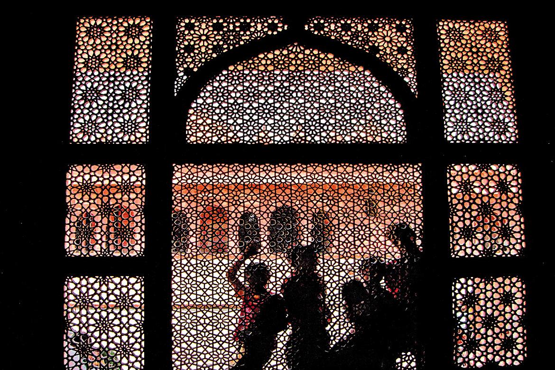 June 2017: Salim Chisti's Dargah, Fatehpur Sikri, Agra by Anneysha Chatterjee