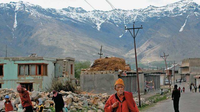 The base for treks in Zanskar