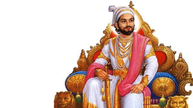 A popular depiction of Shivaji
