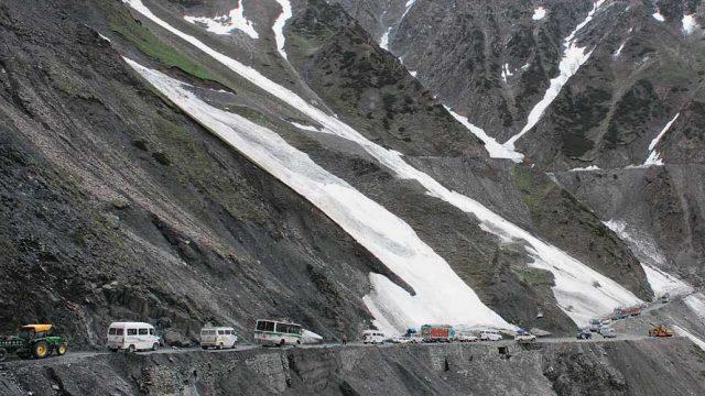 Srinagar-Leh drive