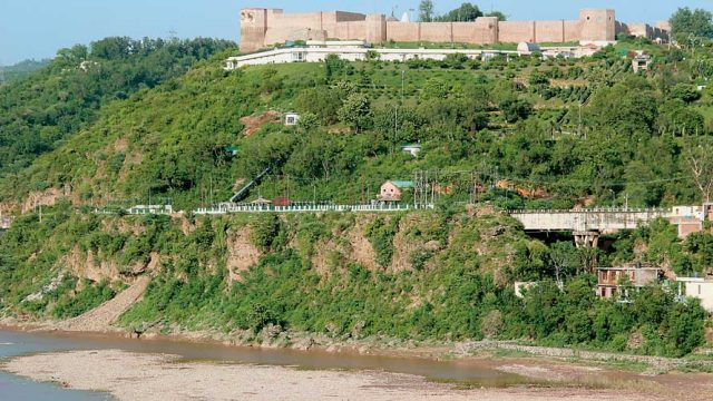 Bahu Fort overlooking the Tawi River, Jammu