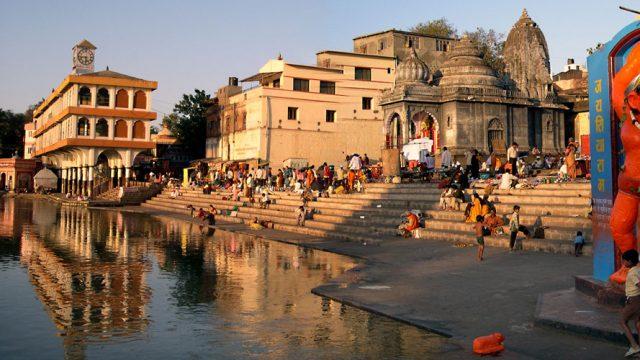 Panchavati beside the Godavari