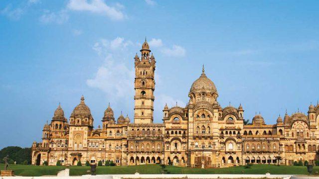 Laxmi Vilas Palace, a stunning example of Indo-Saracenic architecture