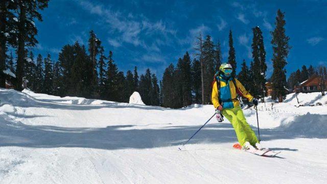 Skiing is popular in Gulmarg