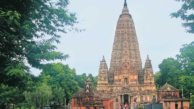 The Mahabodhi Temple Complex, an important site for Buddhist