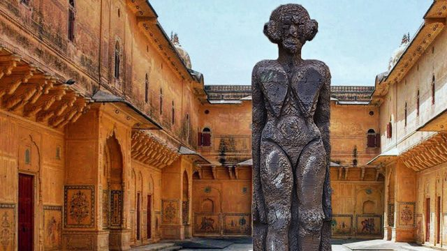 The-Sculpture-Park-at-Madhavendra-Palace-Nahargarh-Fort