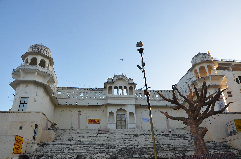 Kota Ghaat, one of the ten ghaats surrounding the holy Pushkar Lake.