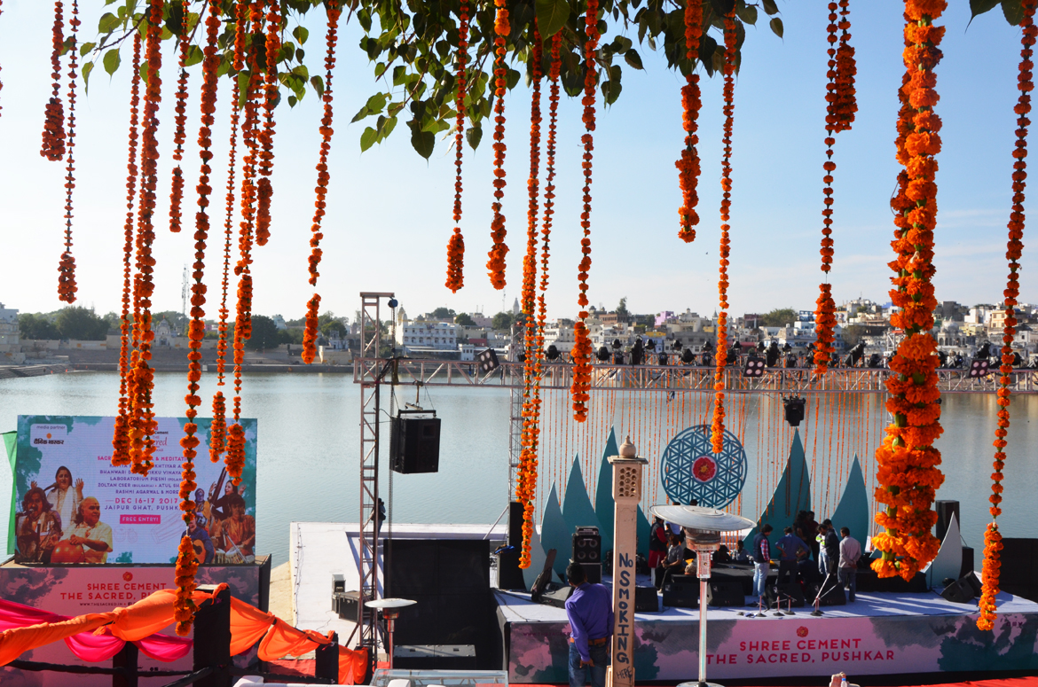 Shree Cement The Sacred Pushkar Festival by the lakeside.