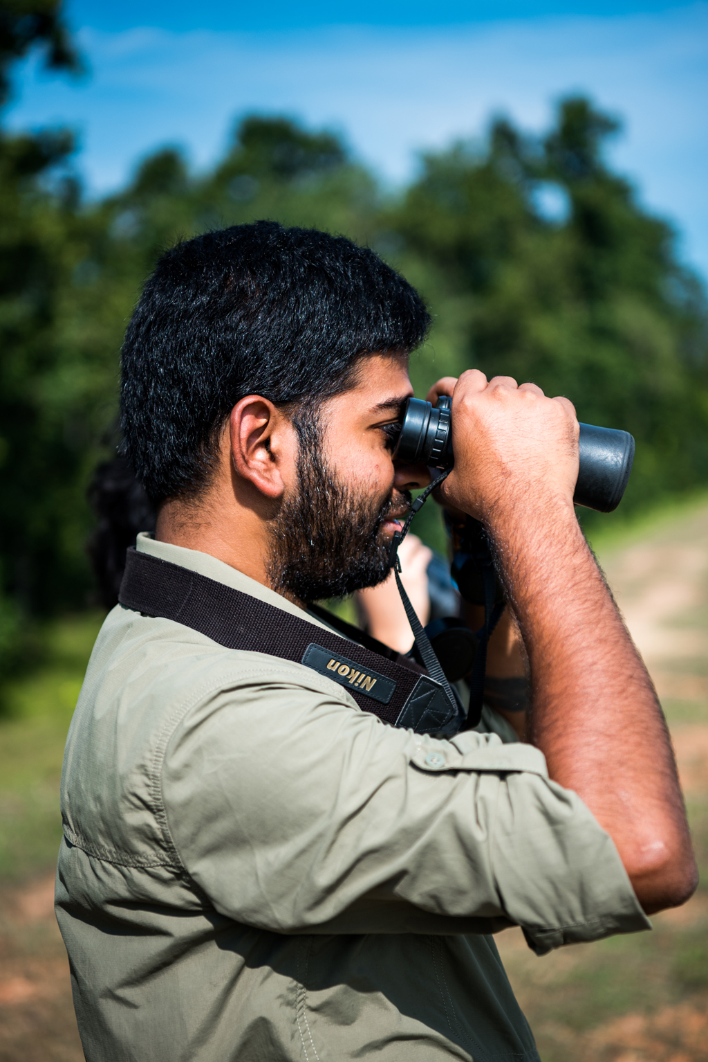 Pranad Patil is a naturalist at the Singinawa Jungle Lodge in Kanha
