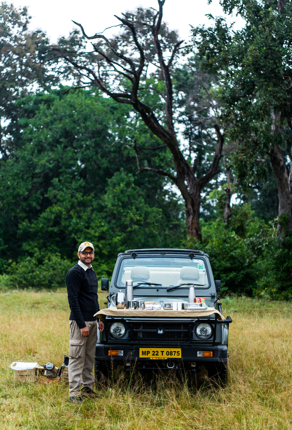 Gaurav Dhotre, a naturalist who works with Pugdundee Safaris, Pench.