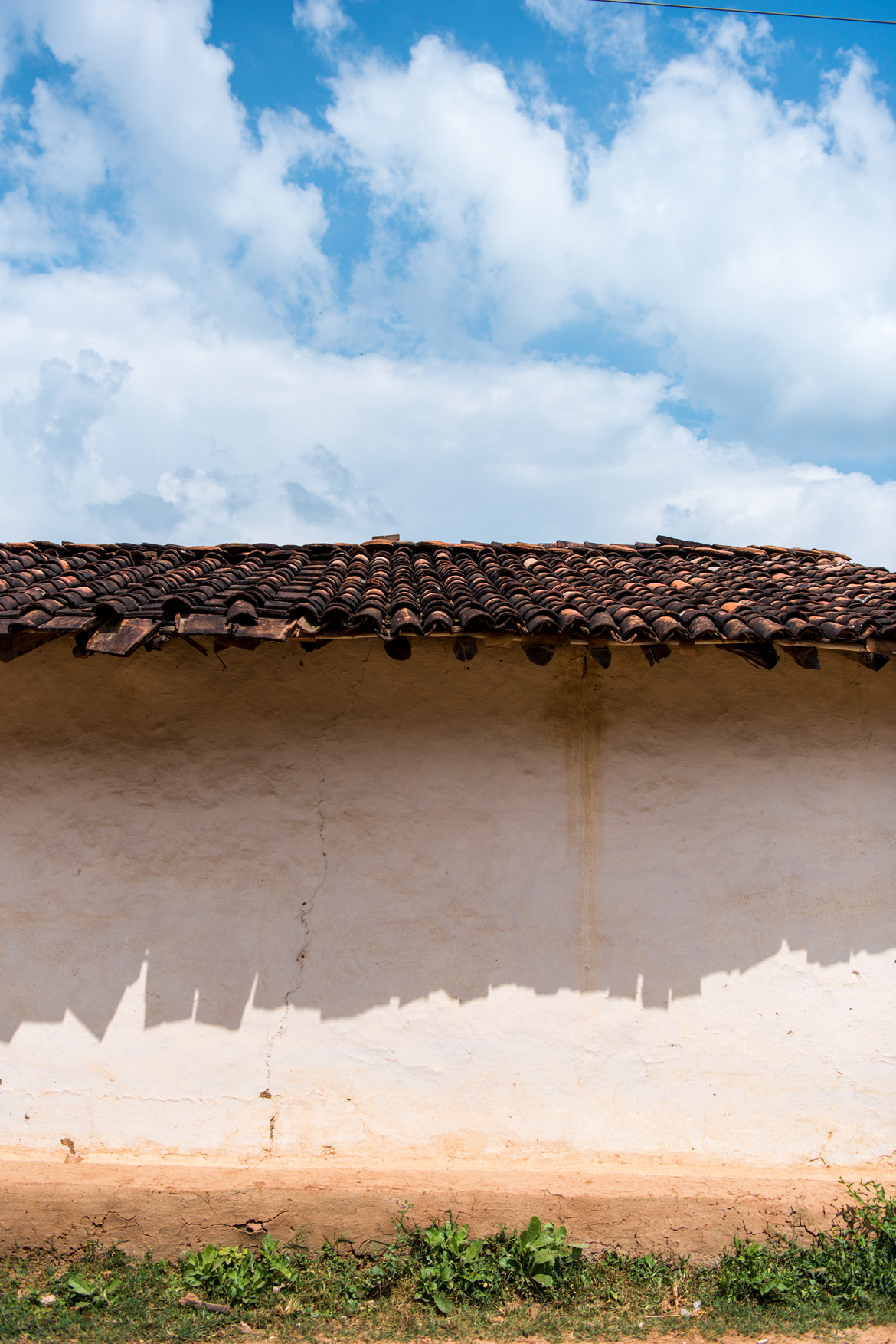 Khaprael, or baked earthen tiles, have more or less replaced the thatched roofs more common in the past.