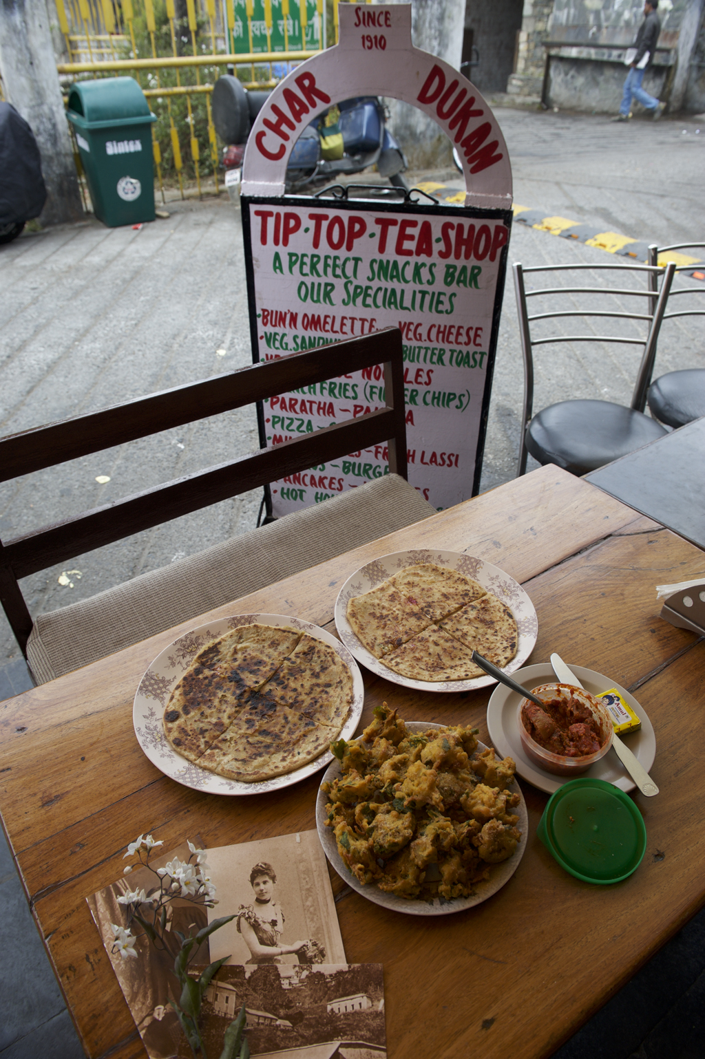 Hill favourites at Tip Top tea shop in Char Dukan
