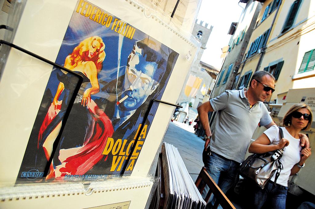 Life is always sweet on the streets of Cortona