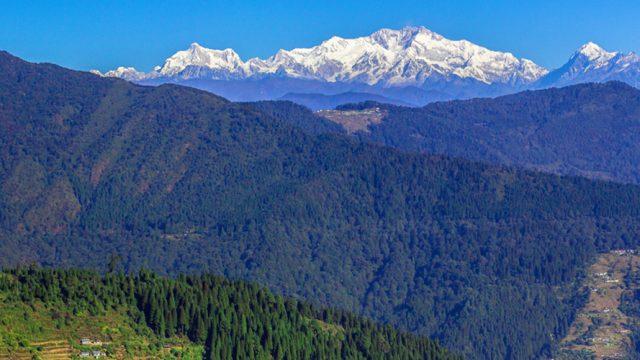 Kanchenjunga as seen from Sandakphu