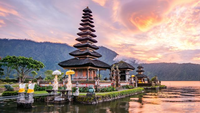 Bali is a tropical paradise