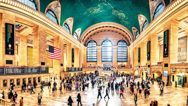 The main foyer of Grand Central Station