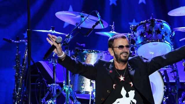 Ringo Starr will be performing live in Israel