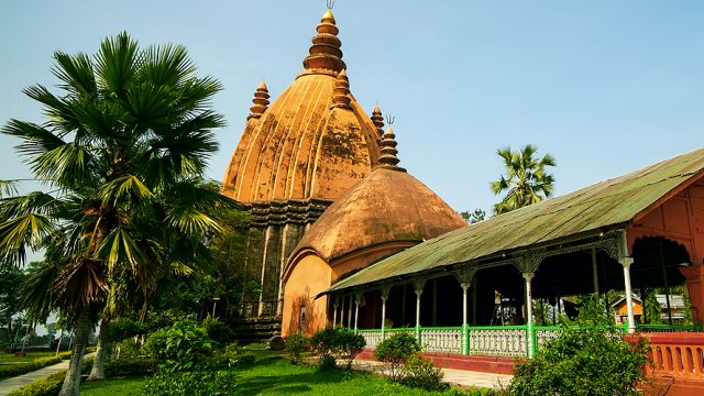Sivadol, the grand Shiva temple in Sivasagar, Assam