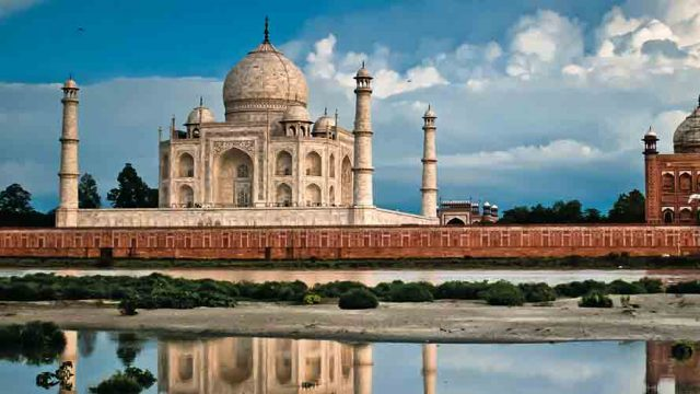 India's most recognisable monument: The Taj Mahal
