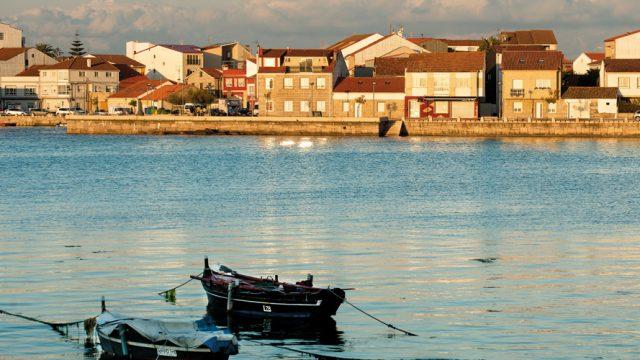 The coastal town of O Grove