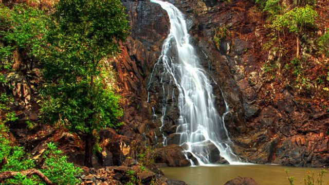 Simlipal Waterfall Odisha India