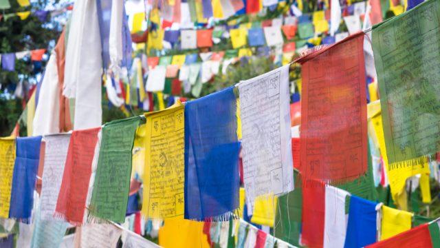 Tibetan-prayer-flags-McLeodganj-Himachal-Pradesh-India