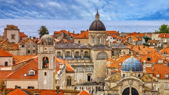 The scintillating architecture from the old city of Dubrovnik
